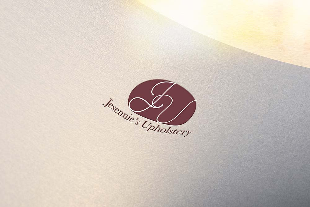 Logo design for Jesennie's Upholstery