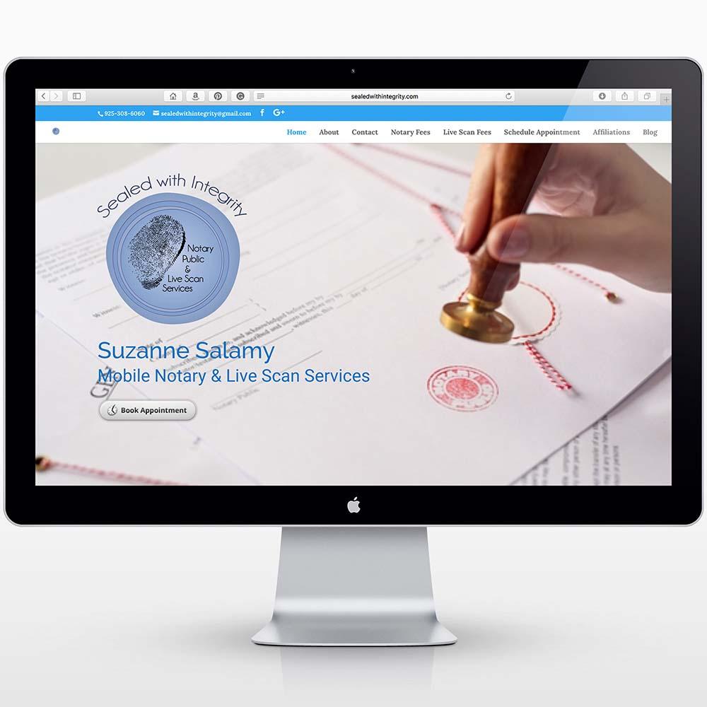 notary website2 Website Design