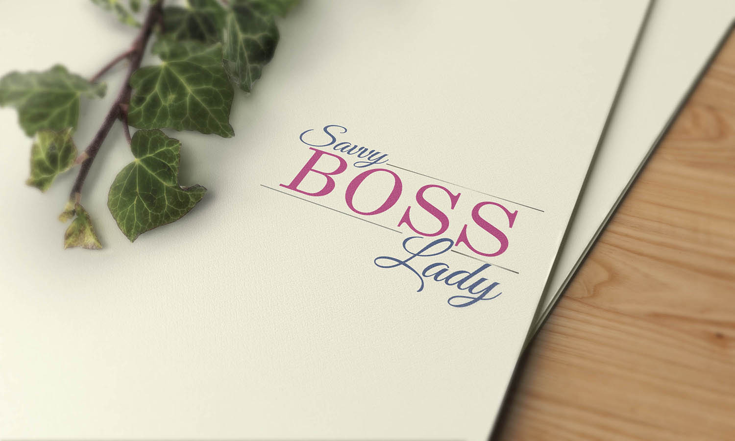 Logo design for Savvy Boss Lady