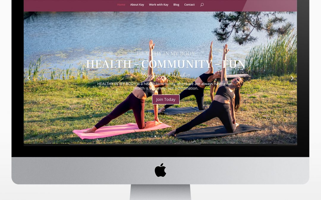 Website Design for Health/Lifestyle Coach
