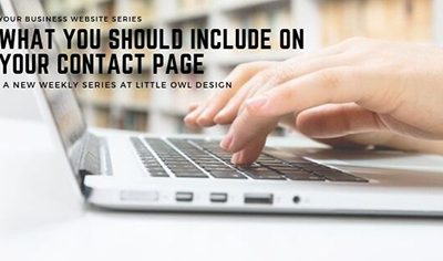 What You Should Include on Your Contact Page