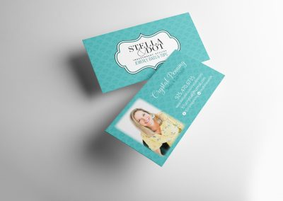Business card for Stella & Dot stylist