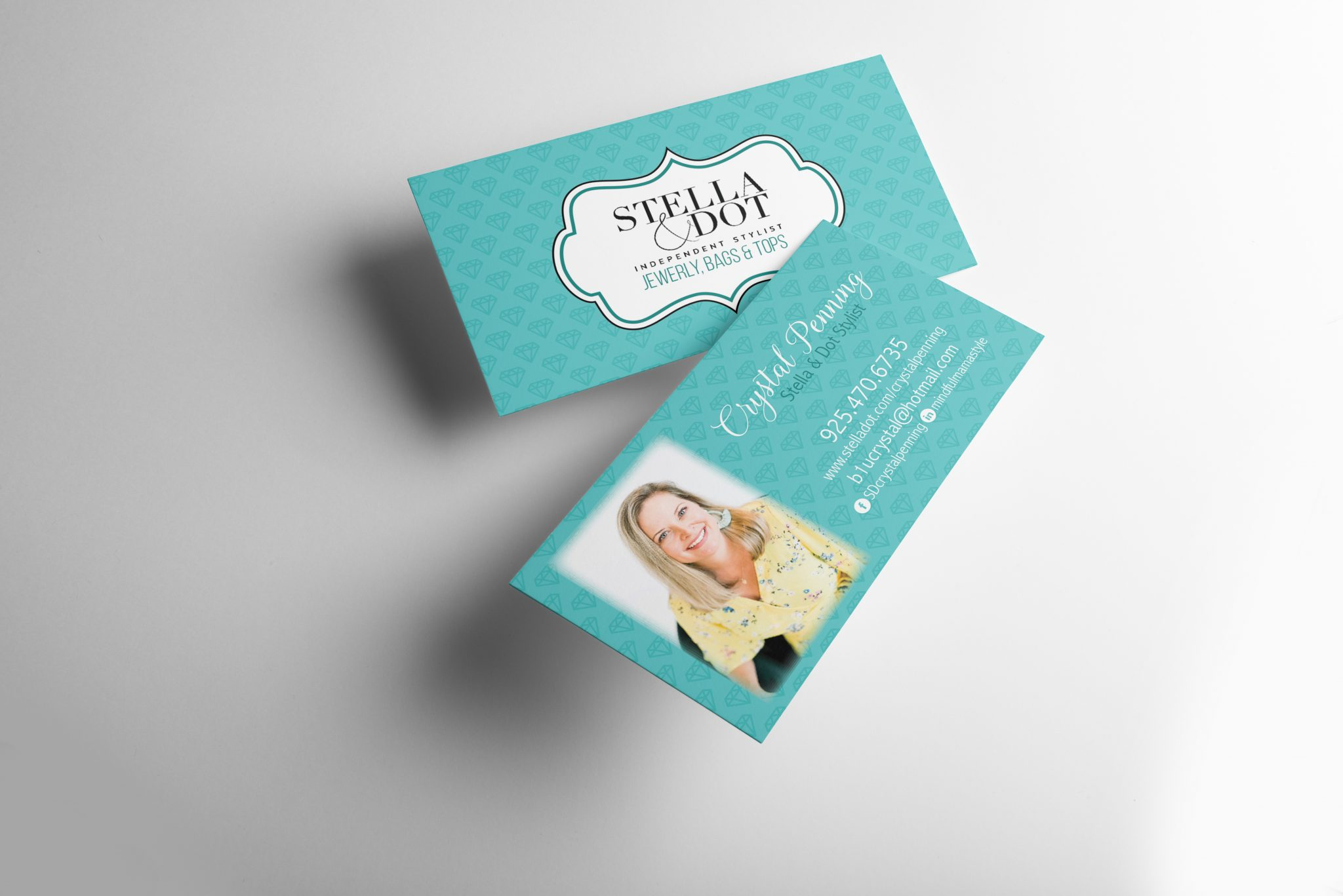 Business card for Stella and Dot Stylist