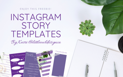 Instagram Story Templates Freebie